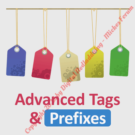 Advanced Tags & Prefixes